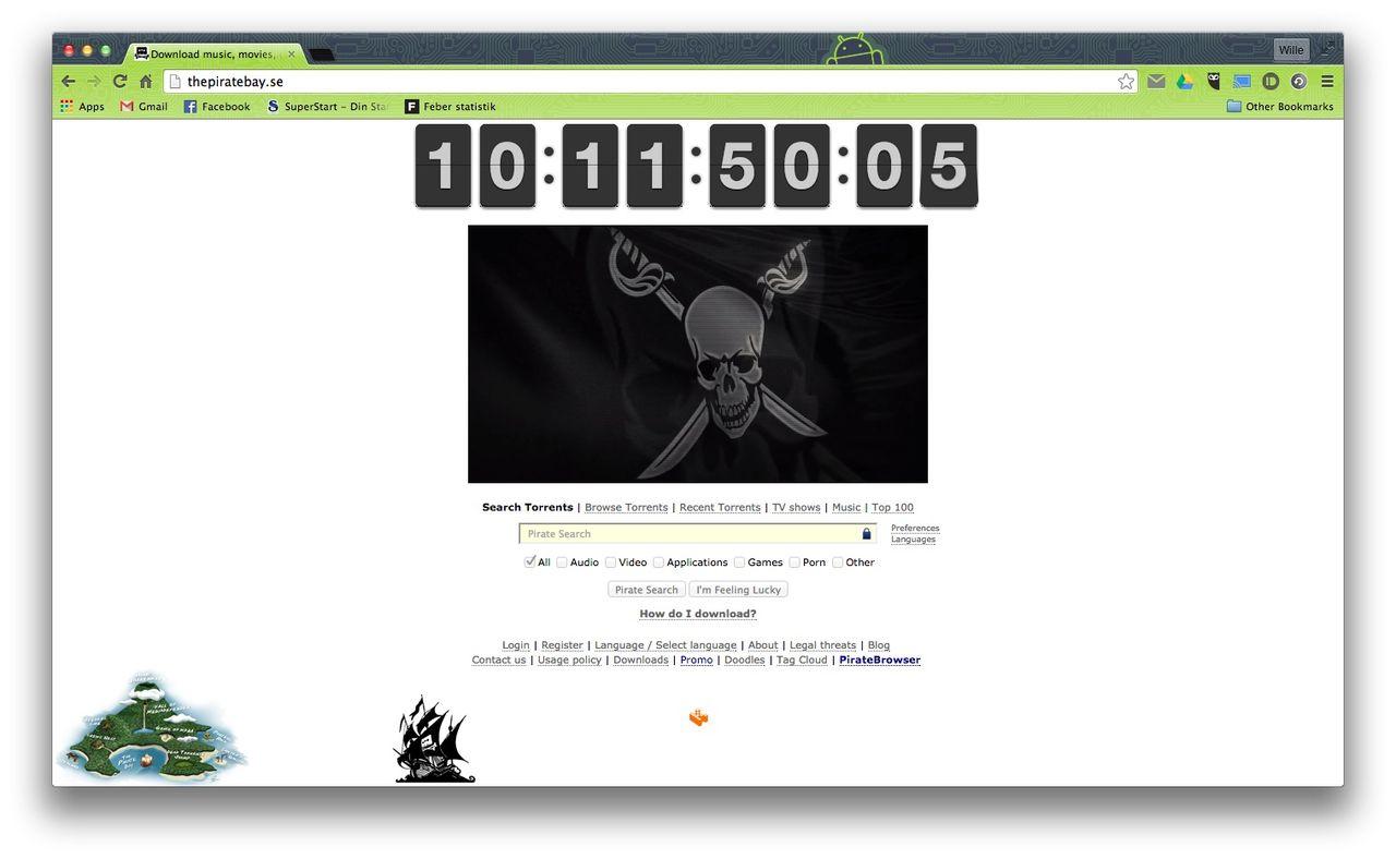 Nytt livstecken från The Pirate Bay