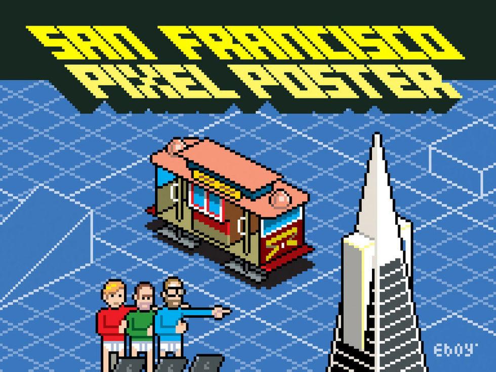 Hjälp eboy avbilda San Francisco