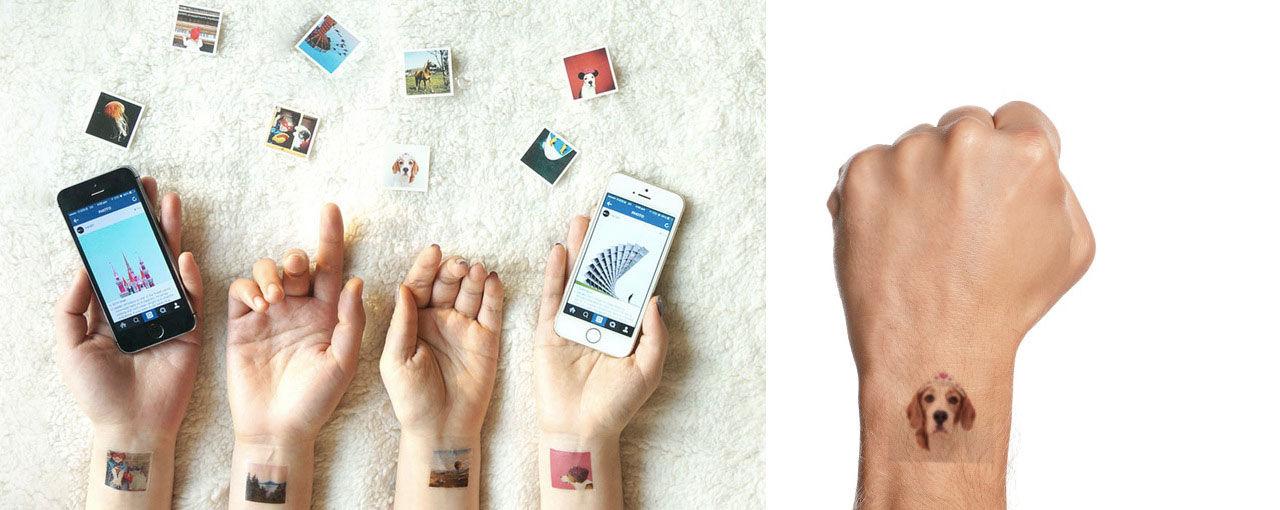 Gör temporära tatueringar av dina instagrambilder med Picattoo