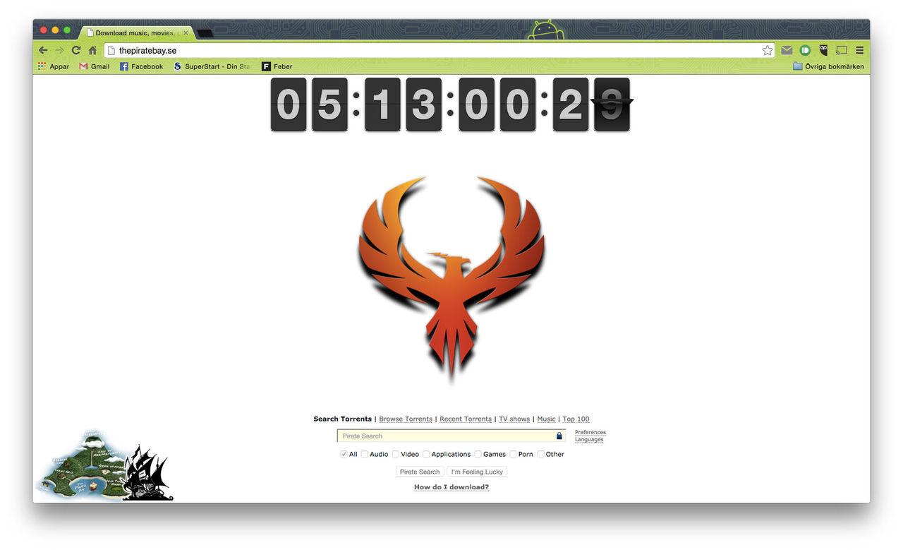 The Pirate Bay uppdaterad igen