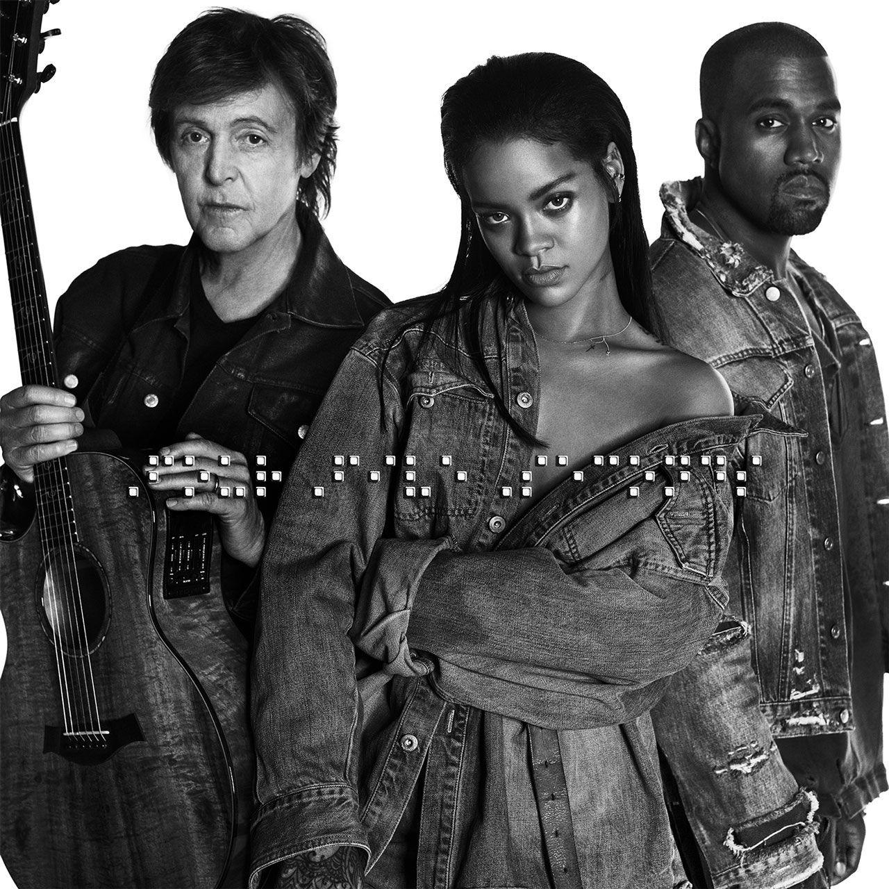 Rihanna, Kanye West och Paul McCartney samarbetar