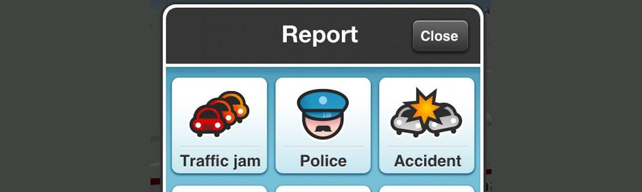 Polis vill att Waze stänger av rapportfunktion