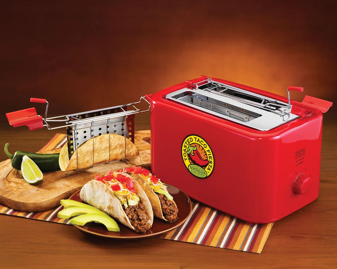 Fixa tacoskalen med The Taco Toaster