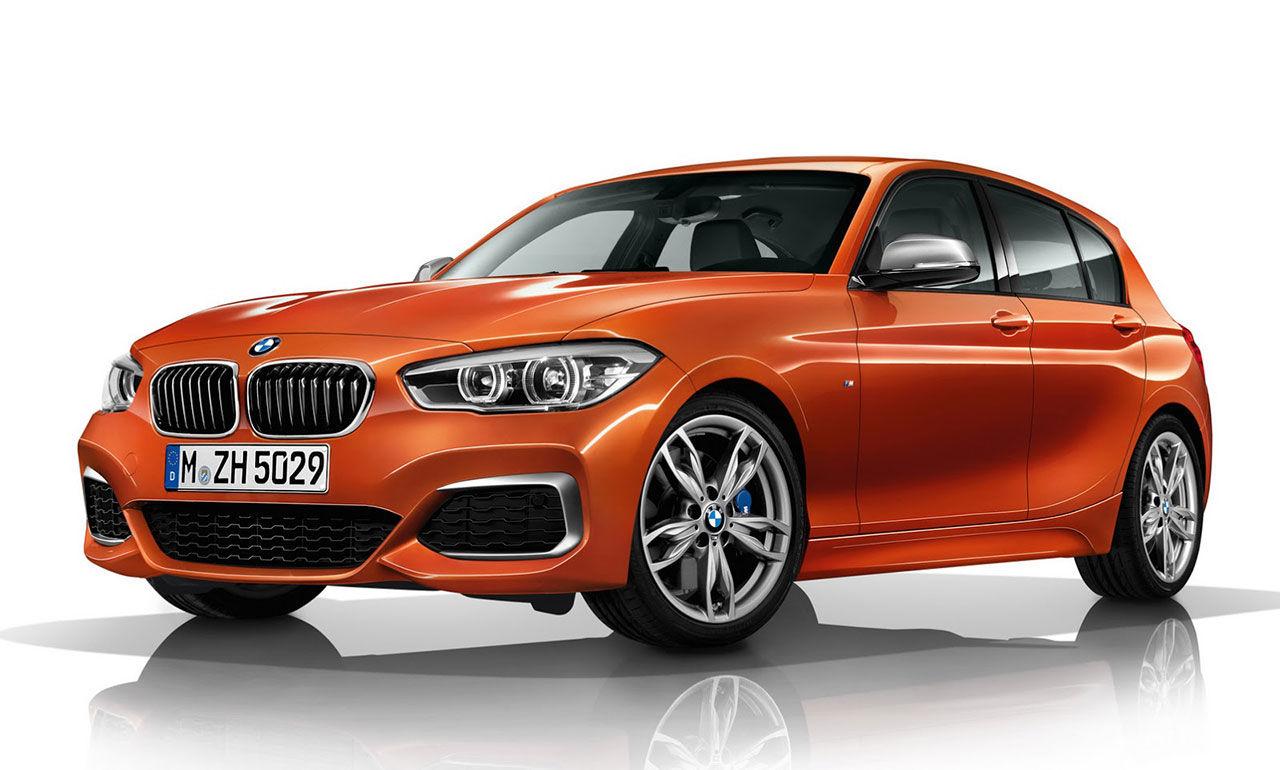 Första bilderna på nya BMW M135i