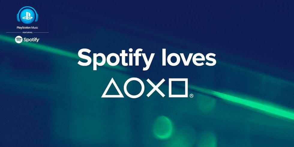 Spotify till PlayStation