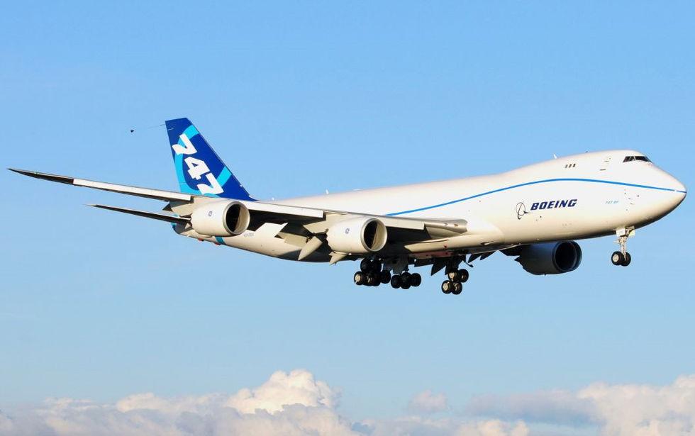 Boeing 747-8 blir nästa Air Force One