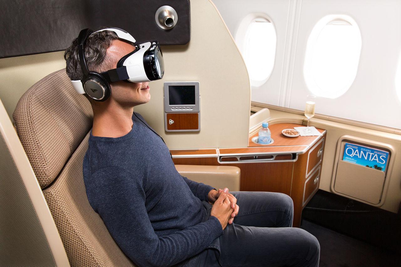 Flygbolag lånar ut Samsung Gear VR under flygresan