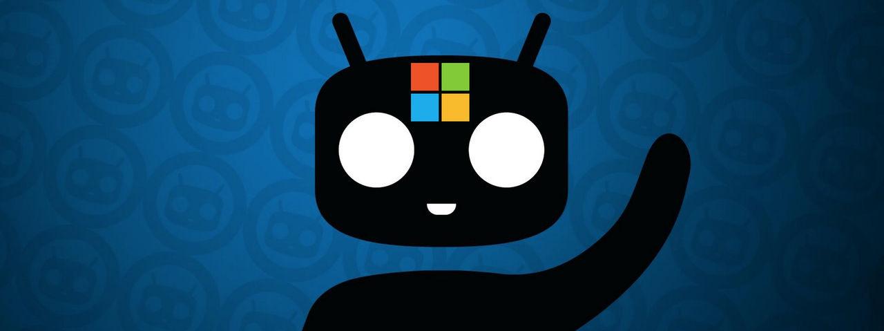Microsoft sneglar på CyanogenMod