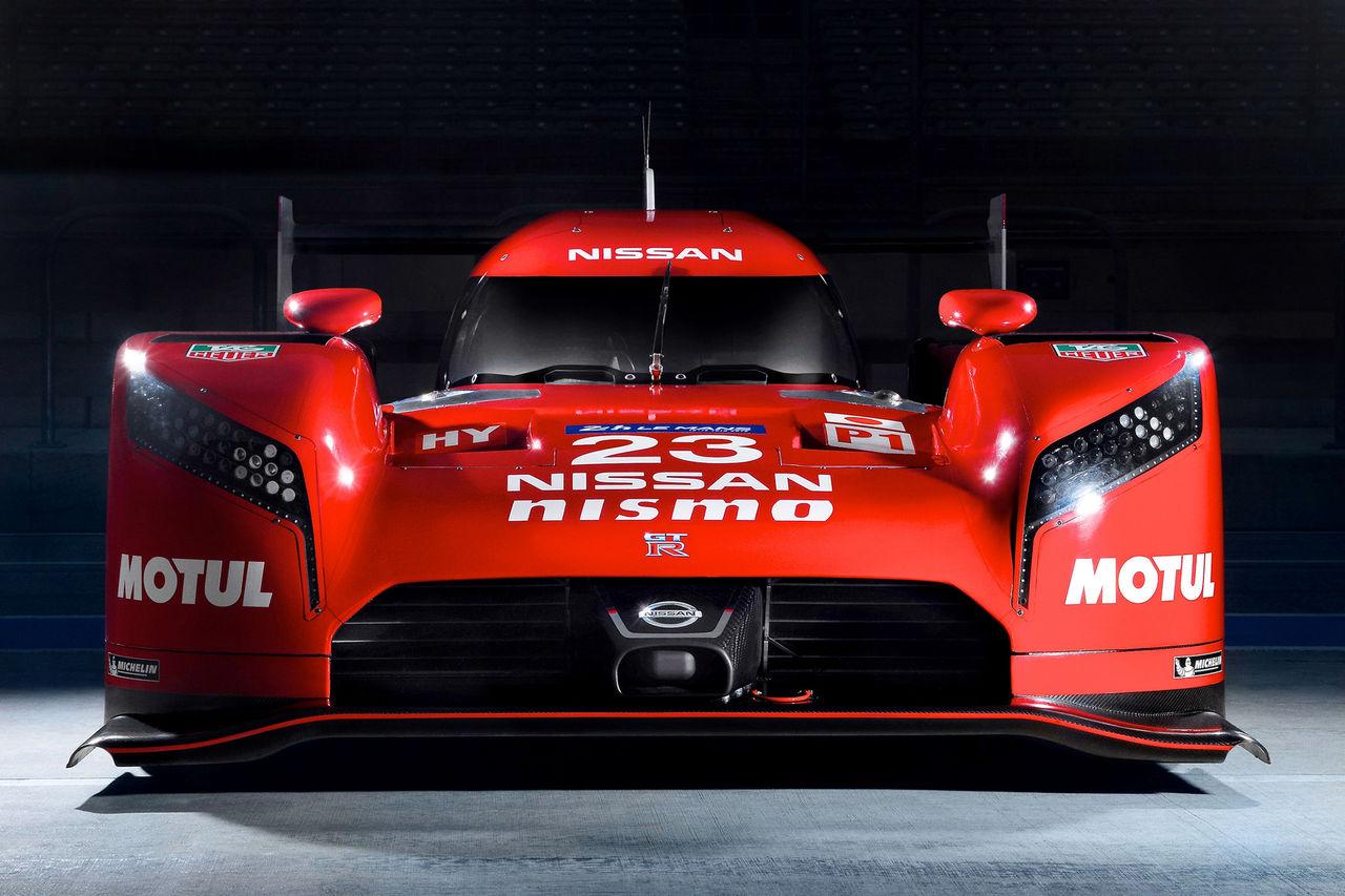 Nissans galna framhjulsdrivna racerbil