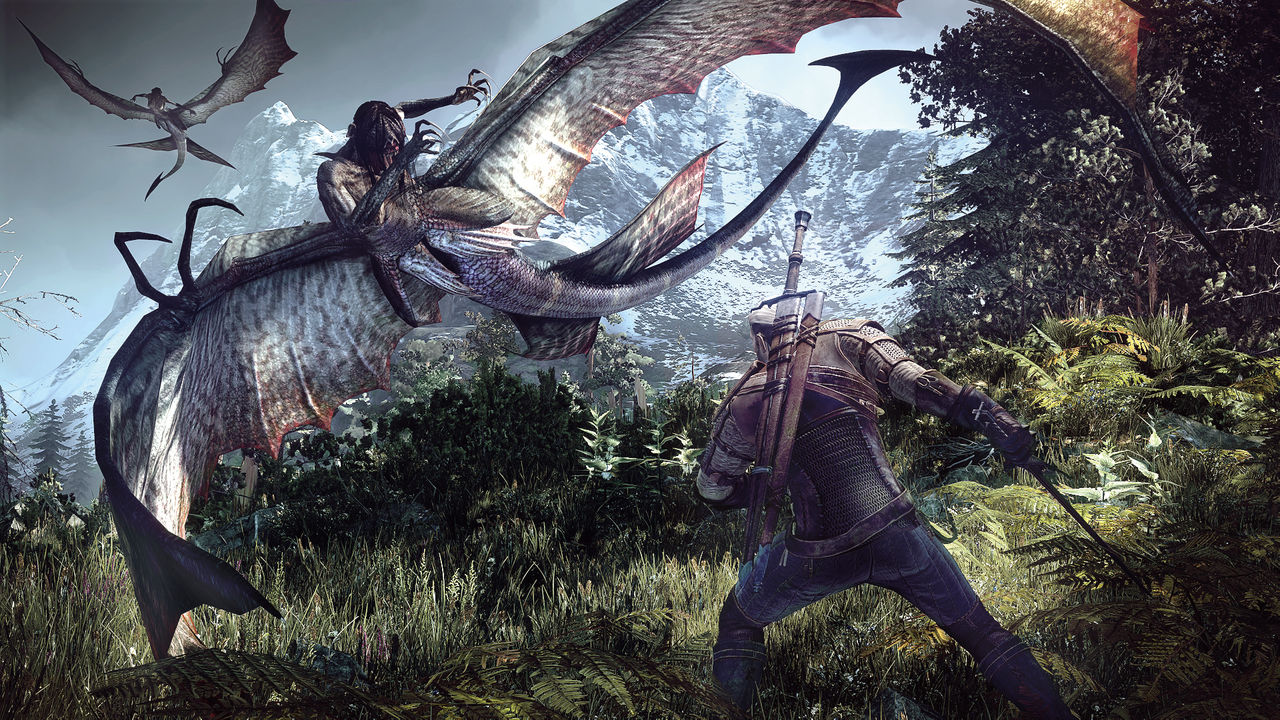 The Witcher 3 snor 50 GB på din PS4:a