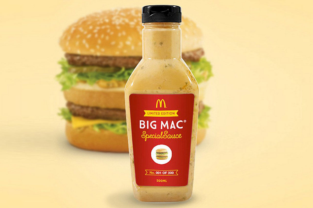 Nu kan du köpa McDonald's Big Mac-sås
