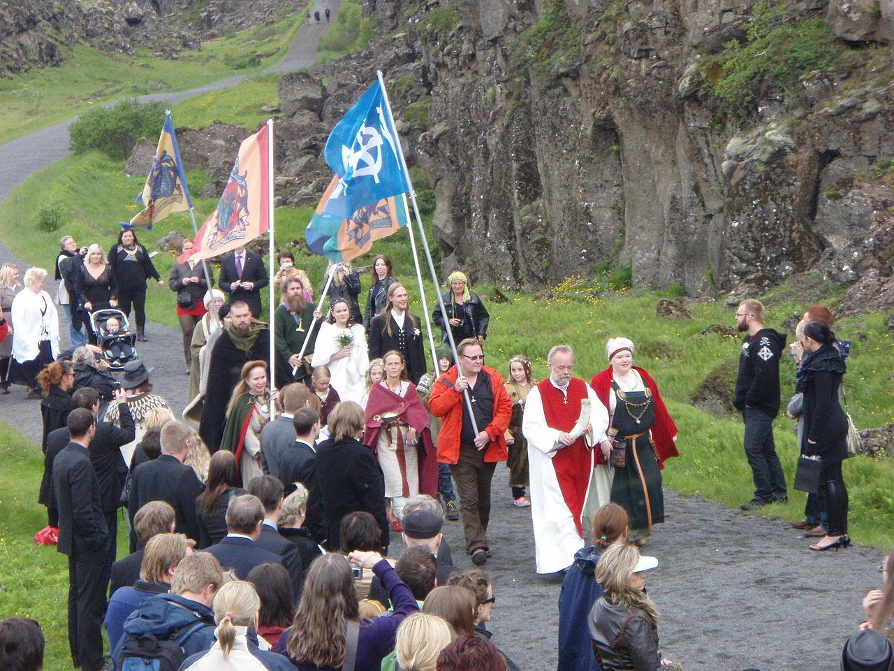 Asatempel byggs på Island