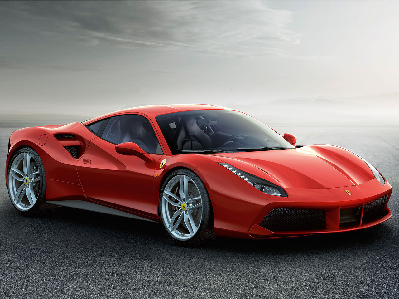 Ferrari presenterar 488 GTB