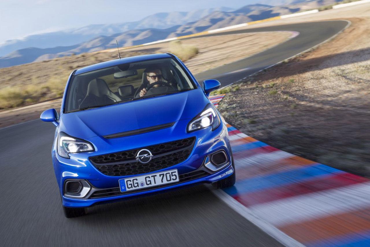 Opel drar täcket av nya Corsa OPC