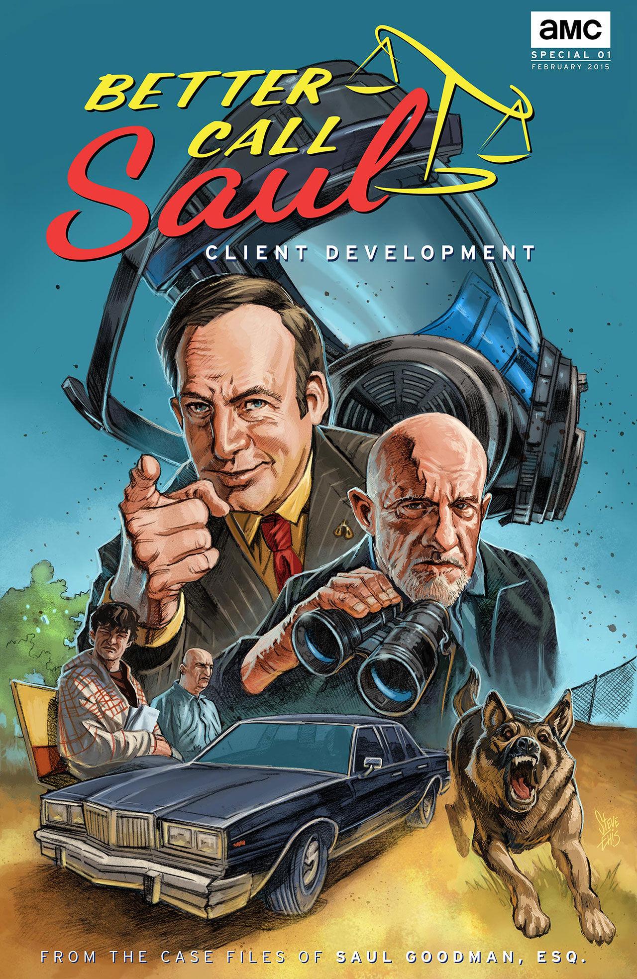 Better call Saul i serietidningsform