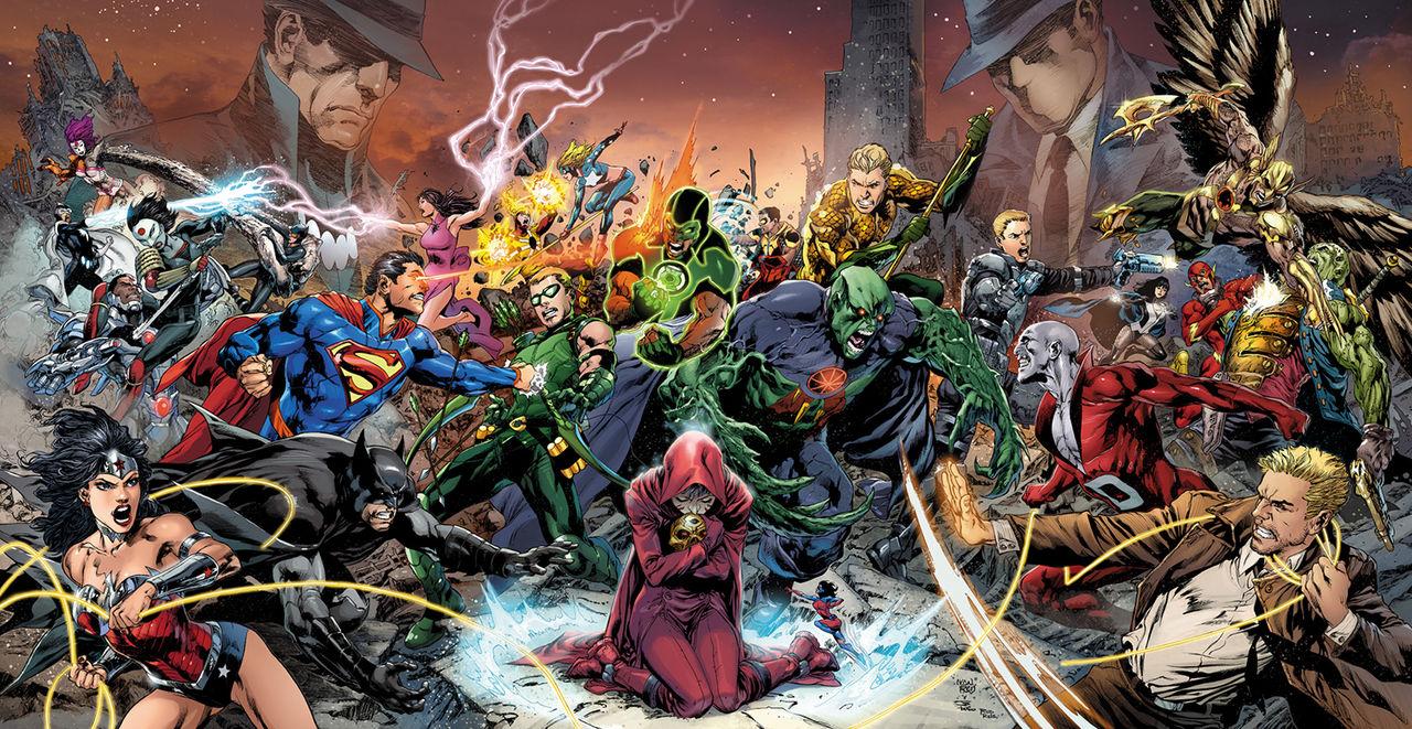 DC Comics slopar The New 52