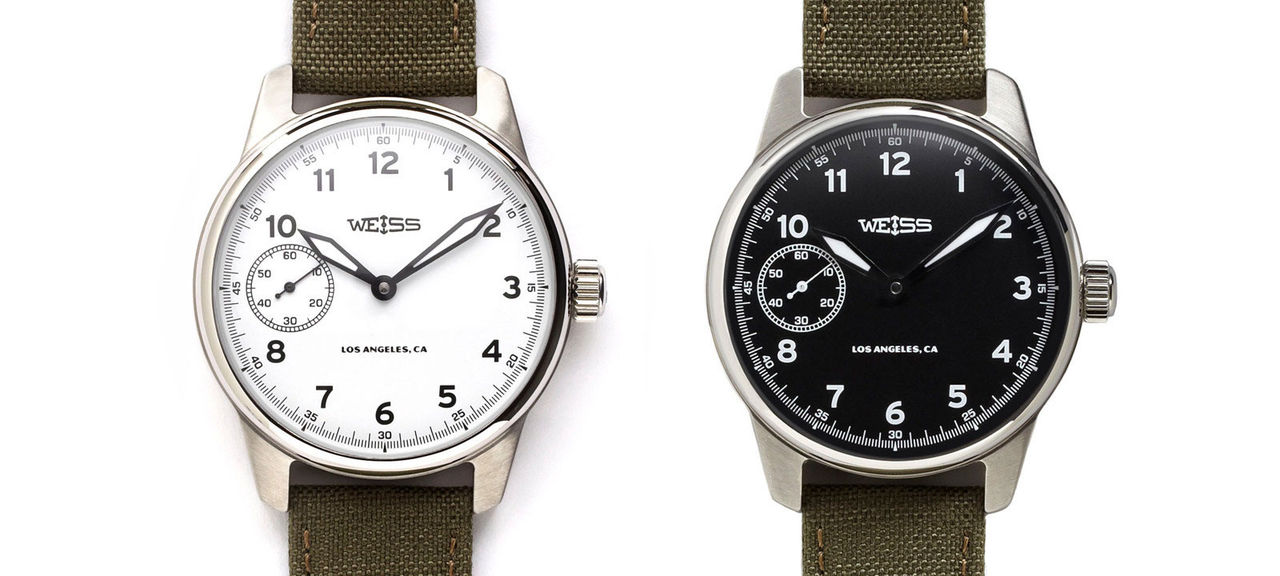 Weiss är klockor tillverkade i USA