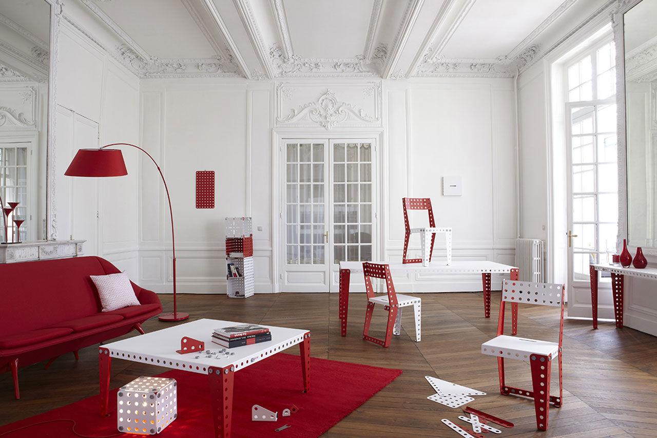 Bygg vilka möbler du vill med Meccano Home
