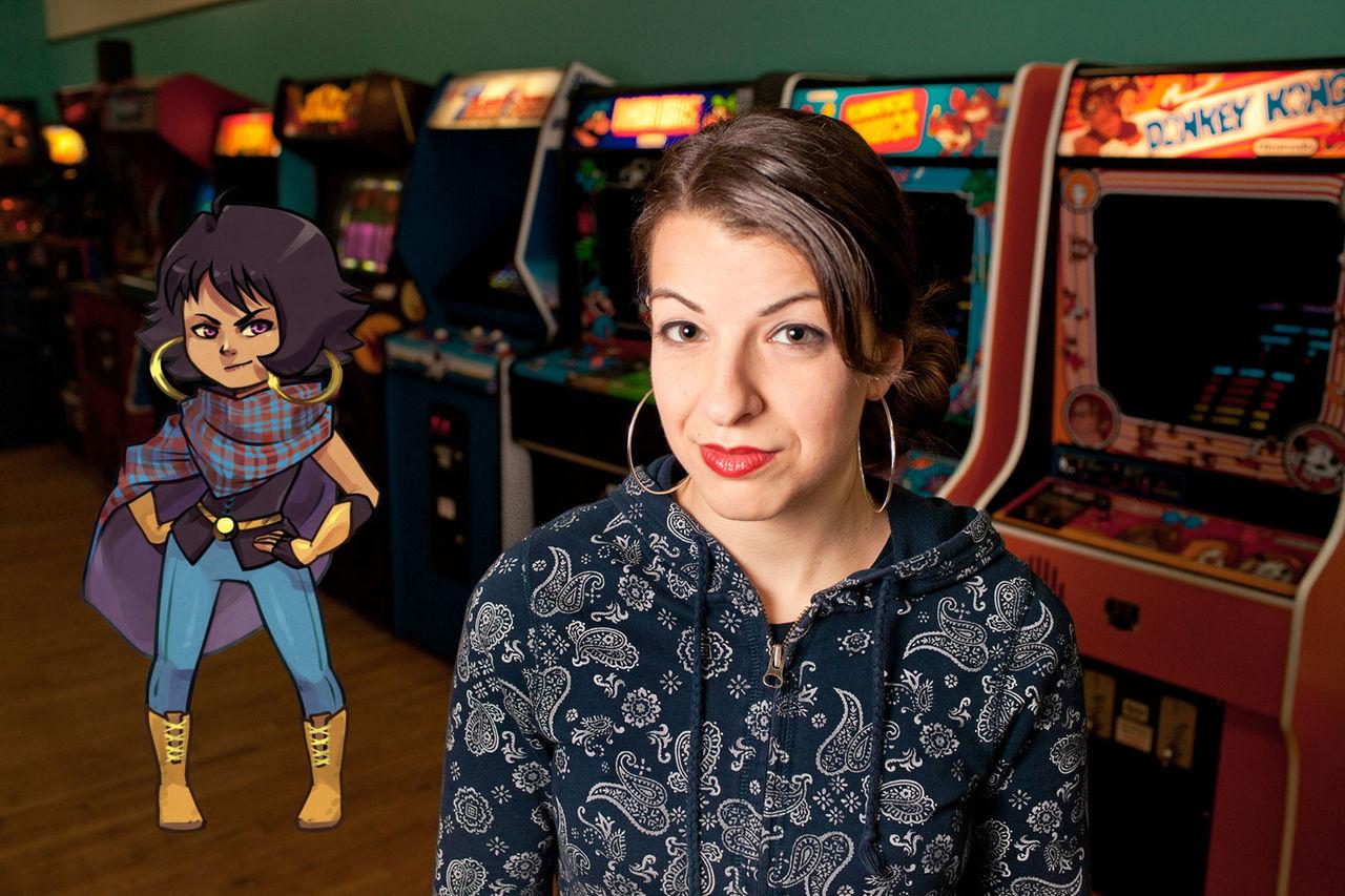 Spelet TowerFall hedrar Anita Sarkeesian med ny karaktär