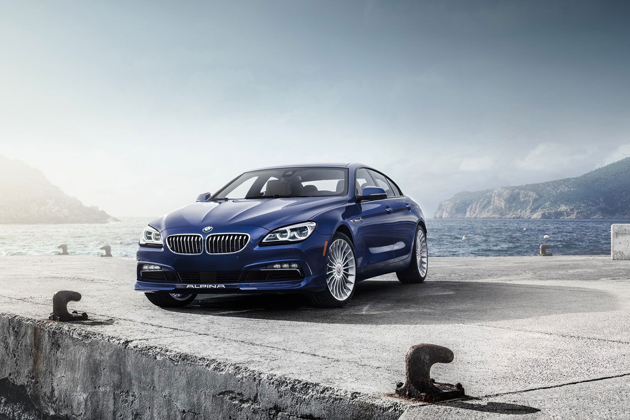Alpina visar upp faceliftad B6 Gran Coupe