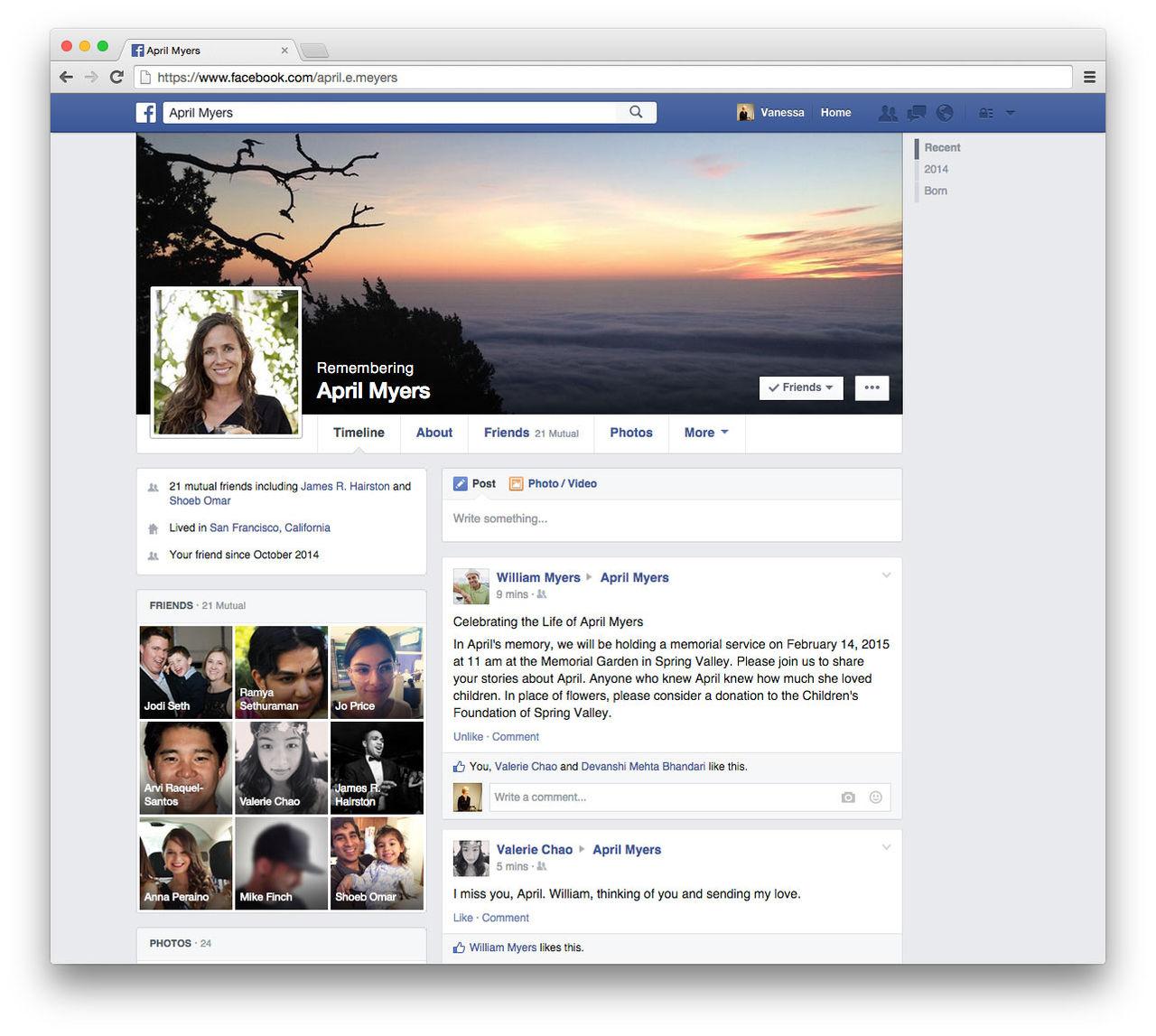 Välj vem som ska sköta ditt Facebook när du är död