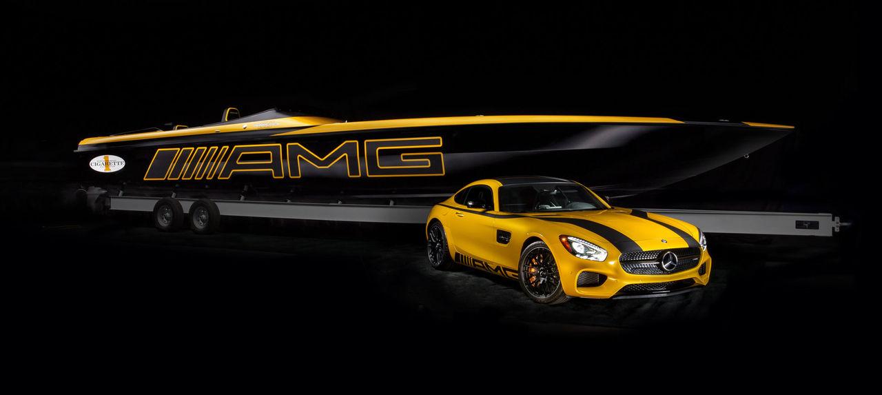 En båt som passar bra till din Mercedes-AMG GT