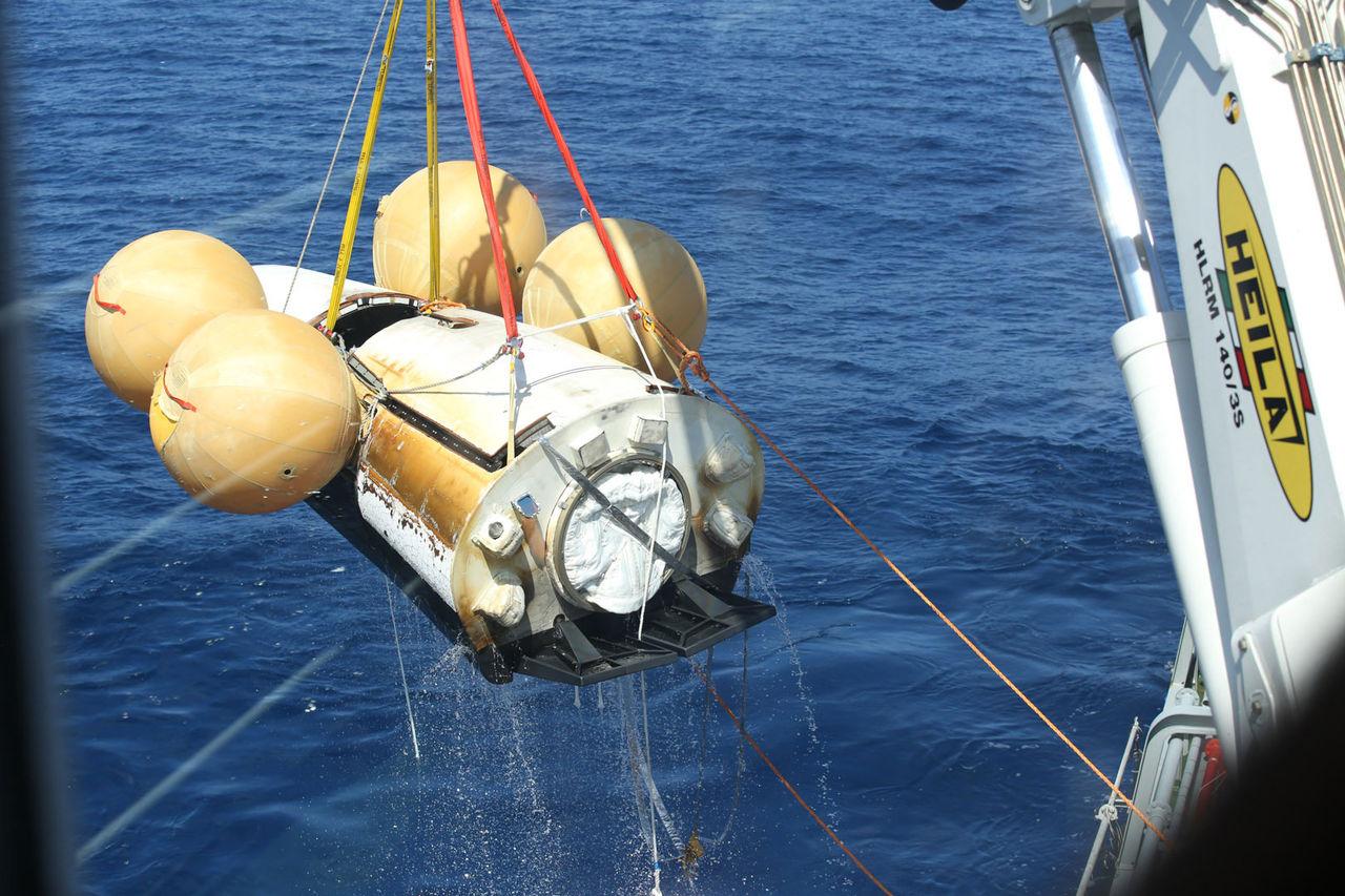 ESA:s IXV är tillbaks på jorden