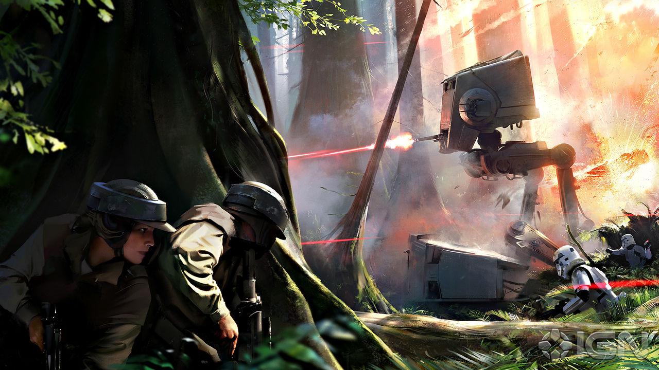 Star Wars: Battlefront kan omfatta flera av filmerna