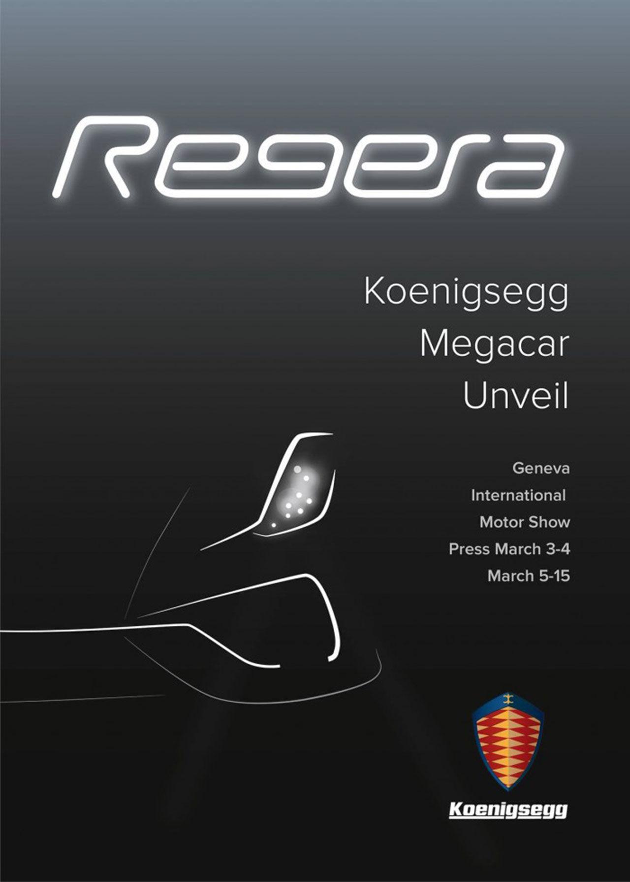Första bilden på Koenigsegg Regera