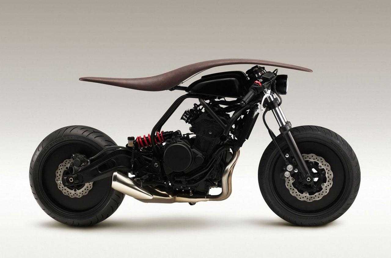 Musikinstrumentdesigners tar fram motorcykel