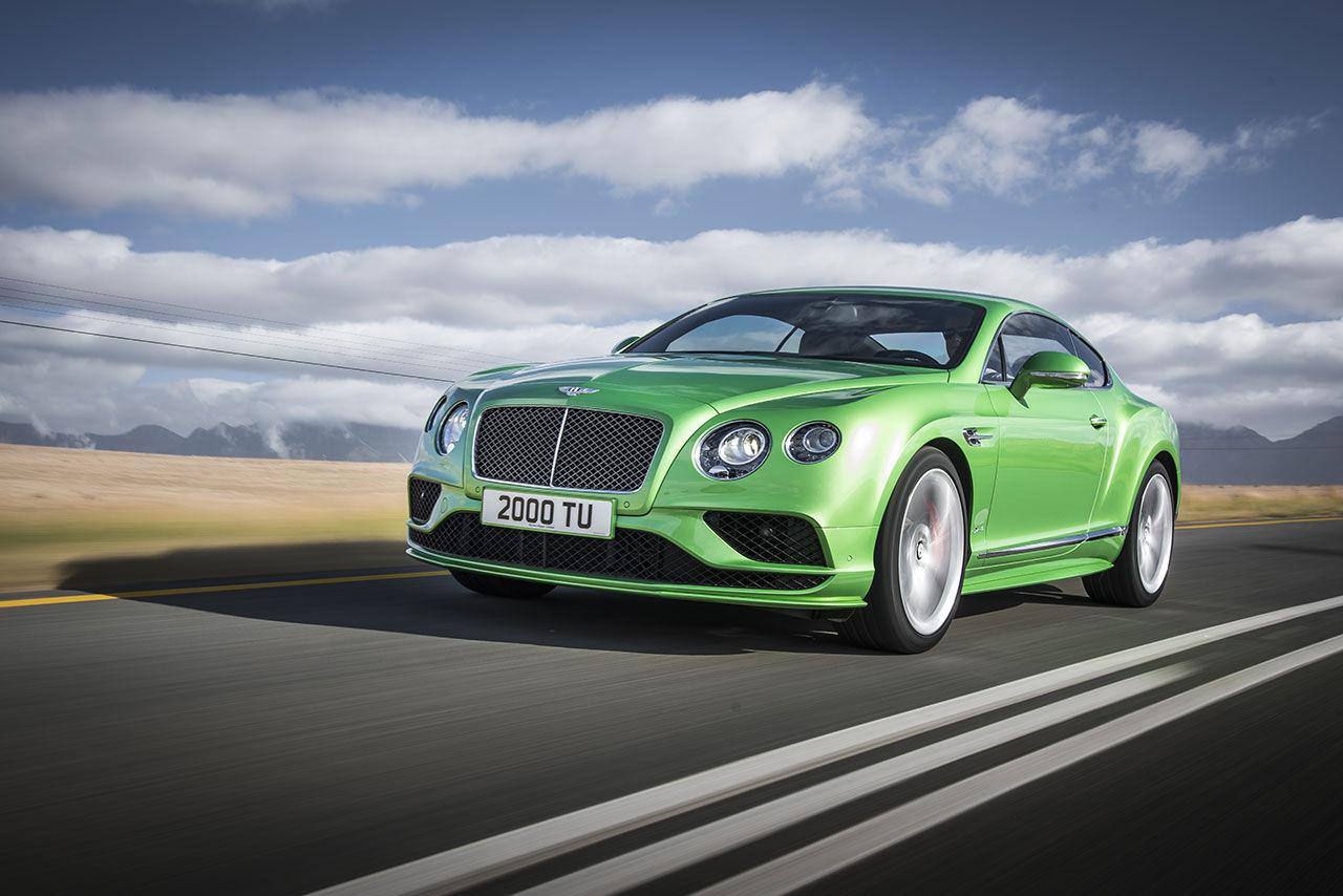 Bentley lyfter Continental GT-familjen