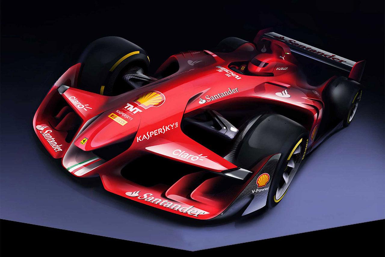 Ferraris framtidsvision om Formel 1