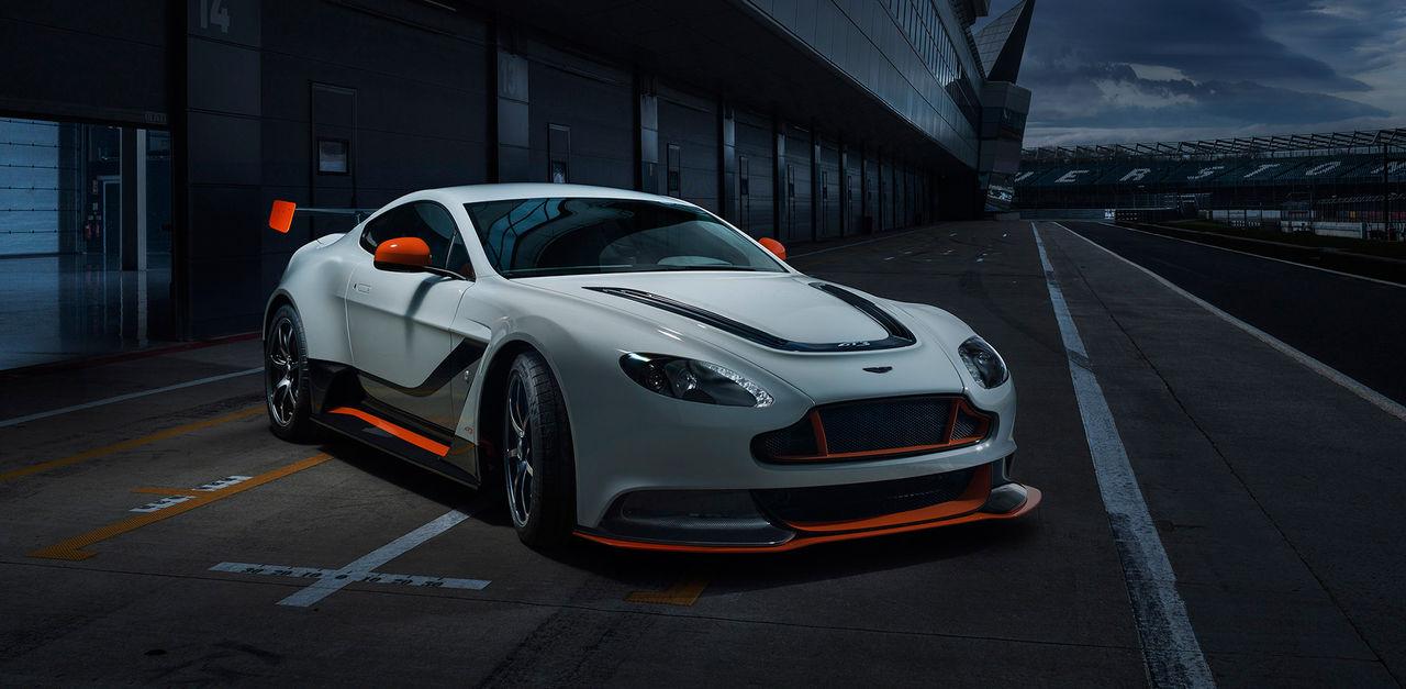 Aston Martin visar en extrem version av Vantage
