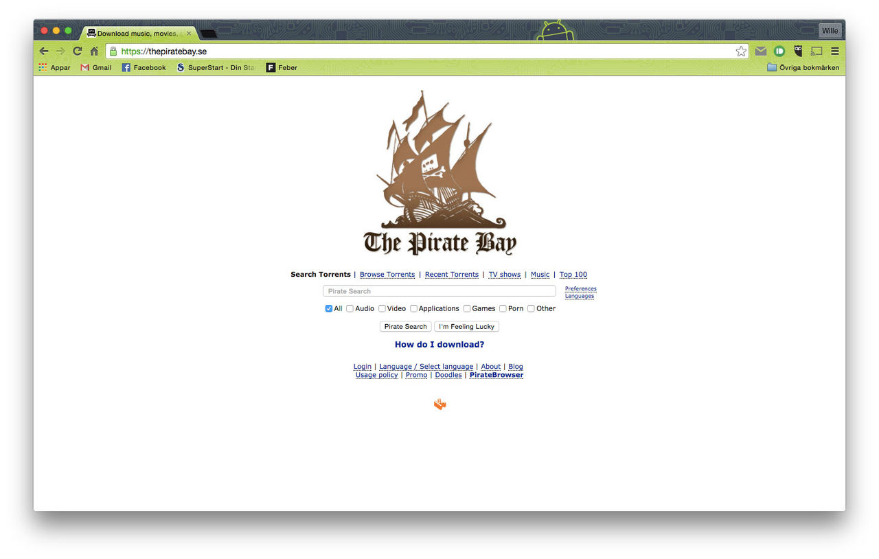 The Pirate Bay har hostingproblem
