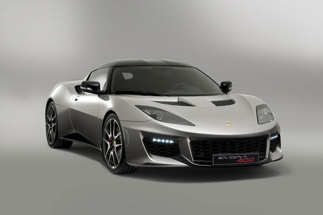 Lotus presenterar superbilen Evora 400