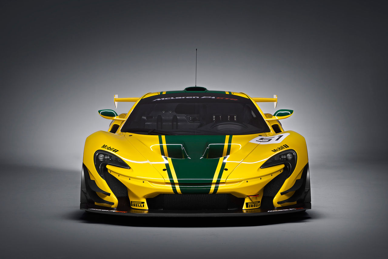 McLaren P1 GTR i produktionsform