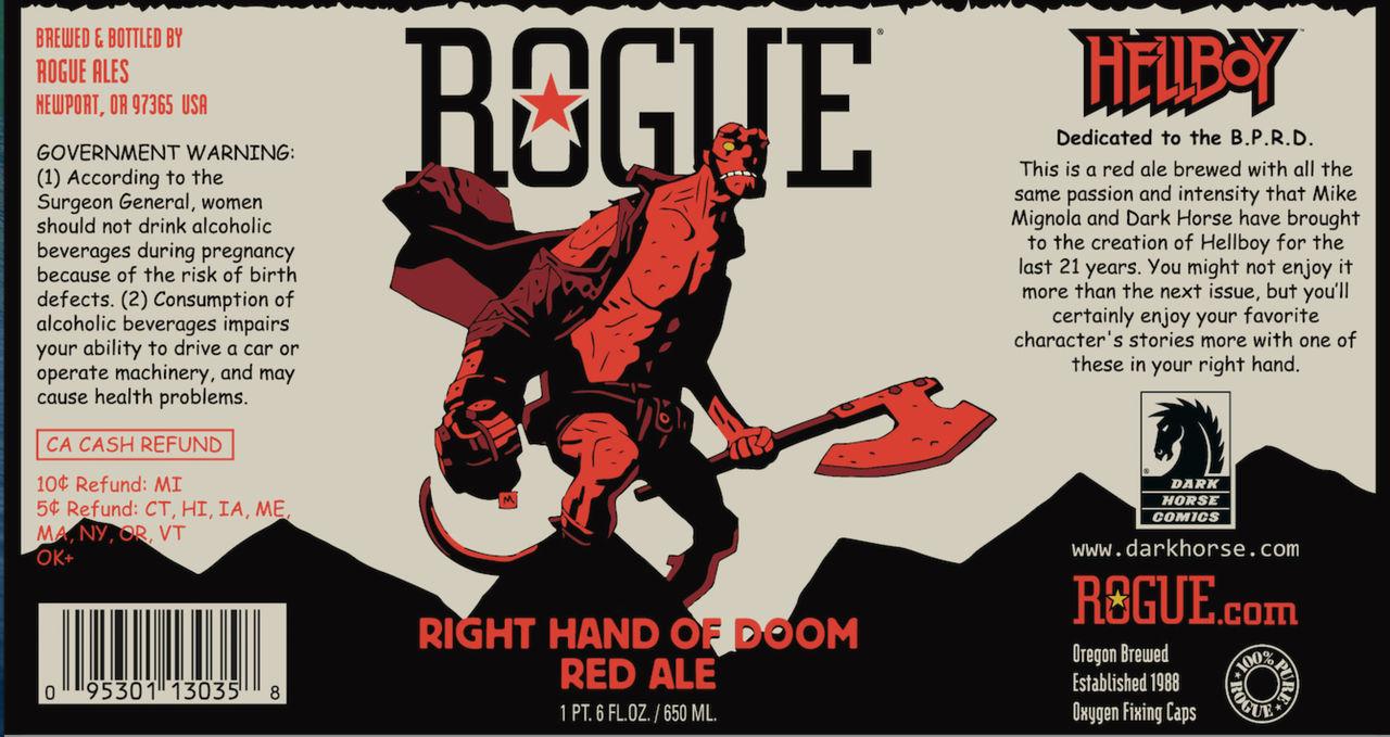 Hellboy får egen öl