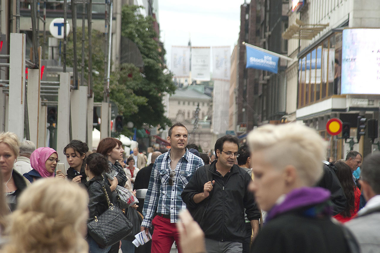 Sveriges befolkning ökar i rekordfart