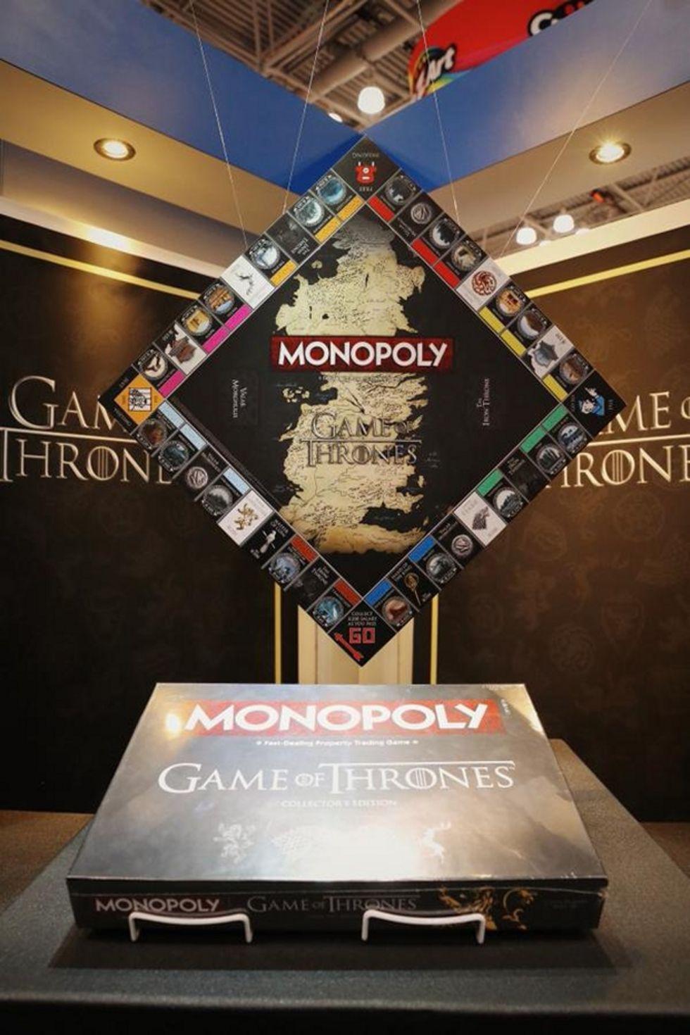 Monopol kommer i en Game of Thrones-version