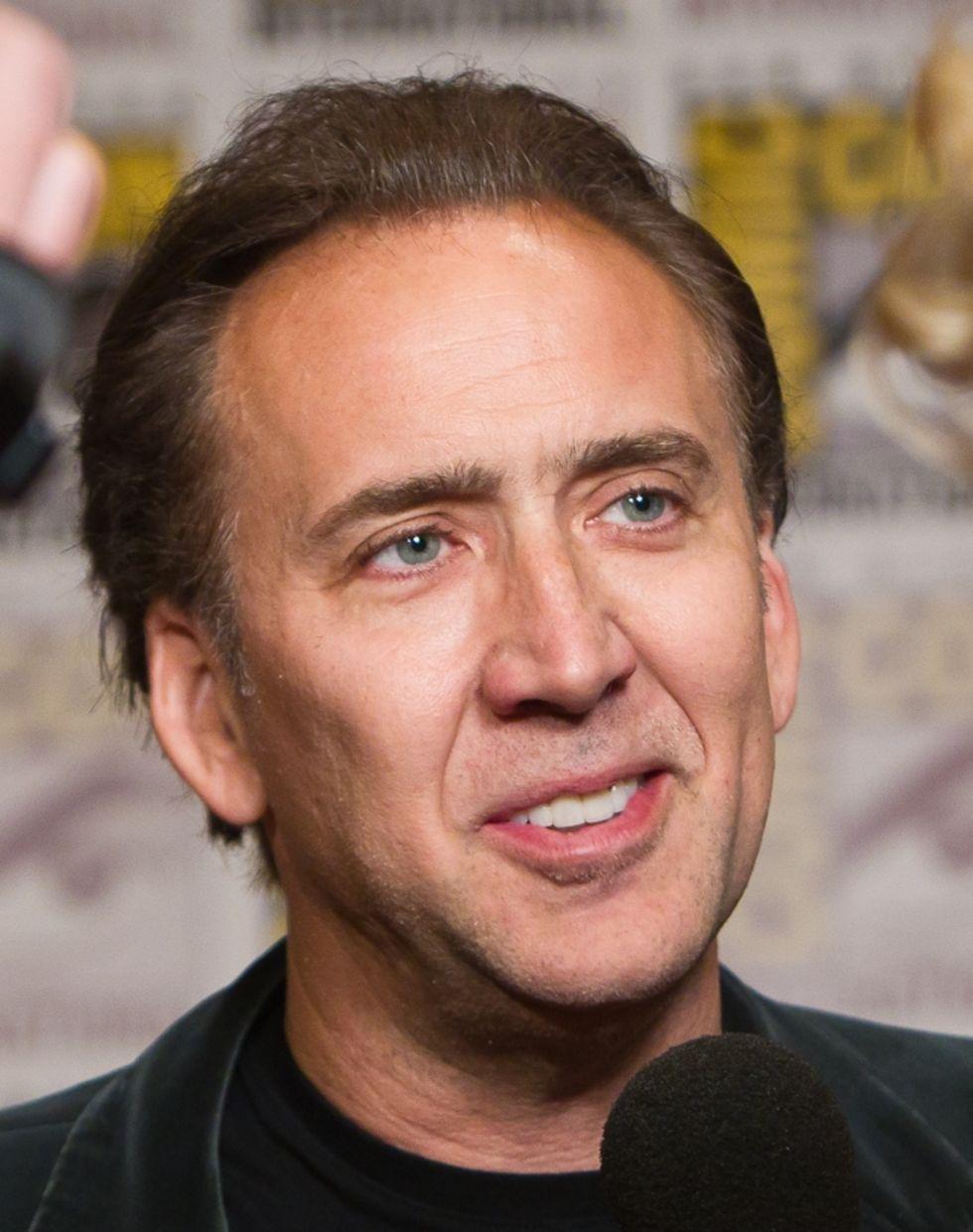 Nicolas Cage medverkar i Edward Snowden-film