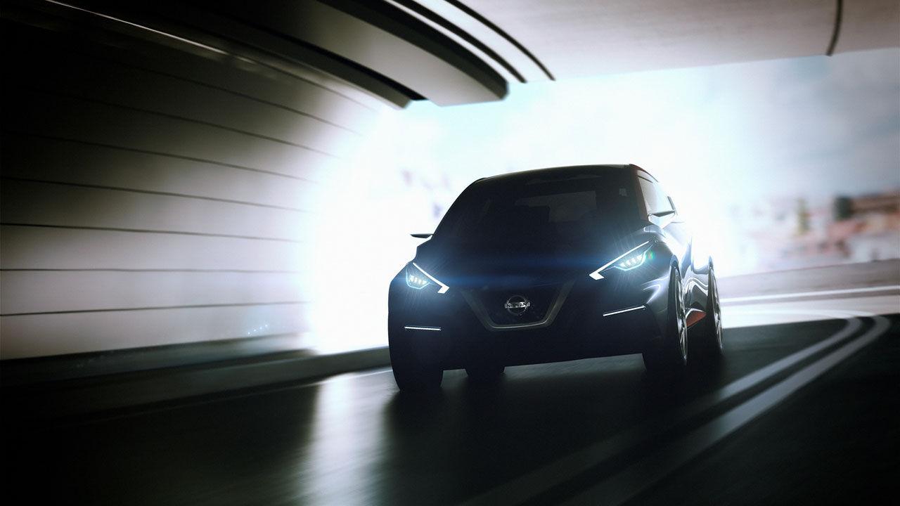 Nissan släpper teaserbild på konceptbilen Sway