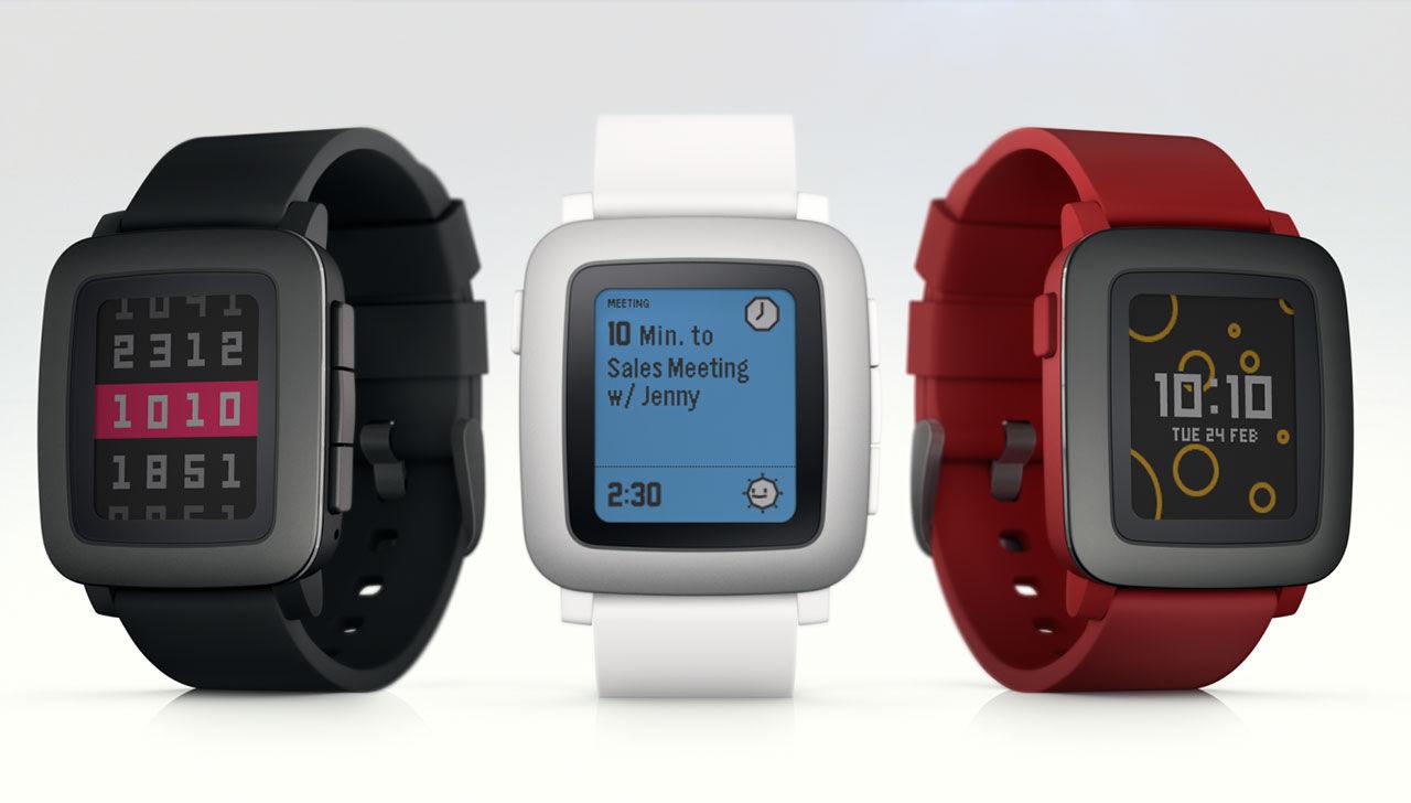 Pebble tar fram smartwatch med färgskärm