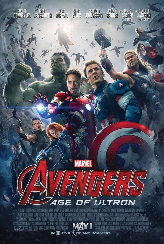 Ny affisch för Avengers: Age of Ultron