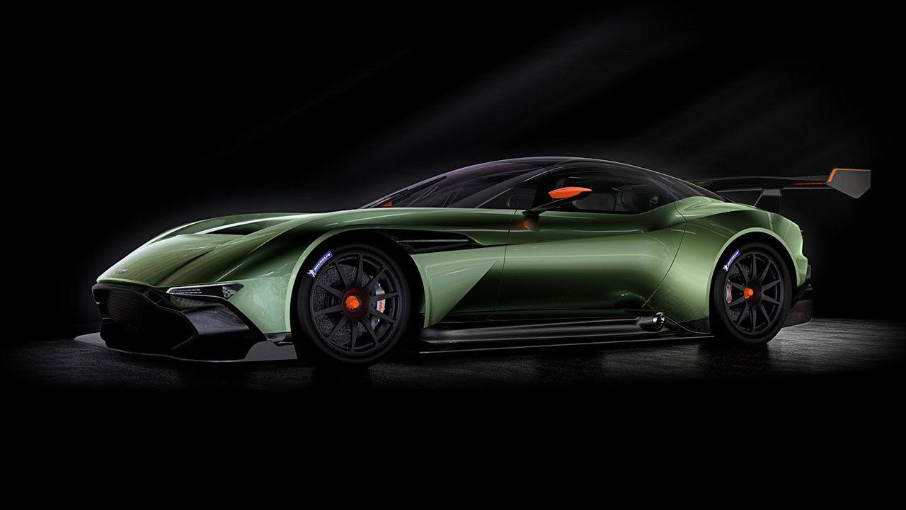 Aston Martin presenterar Vulcan