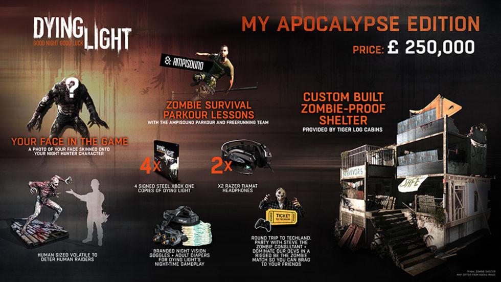 Specialutgåva för Dying Light för tre miljoner kronor