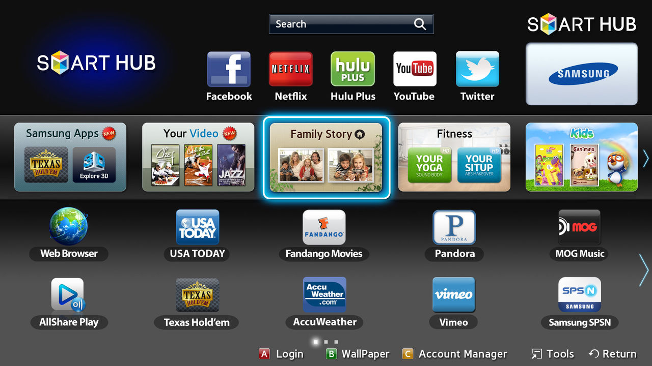 Problem med Samsung Smart Hub i Norden
