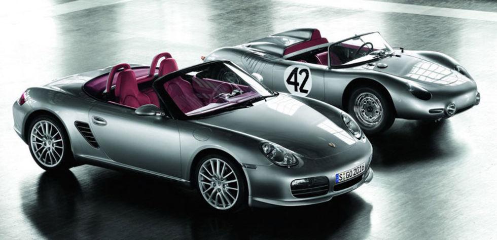 Porsche hyllar Type 718 RS 60 Spyder  med uppdaterad Boxster