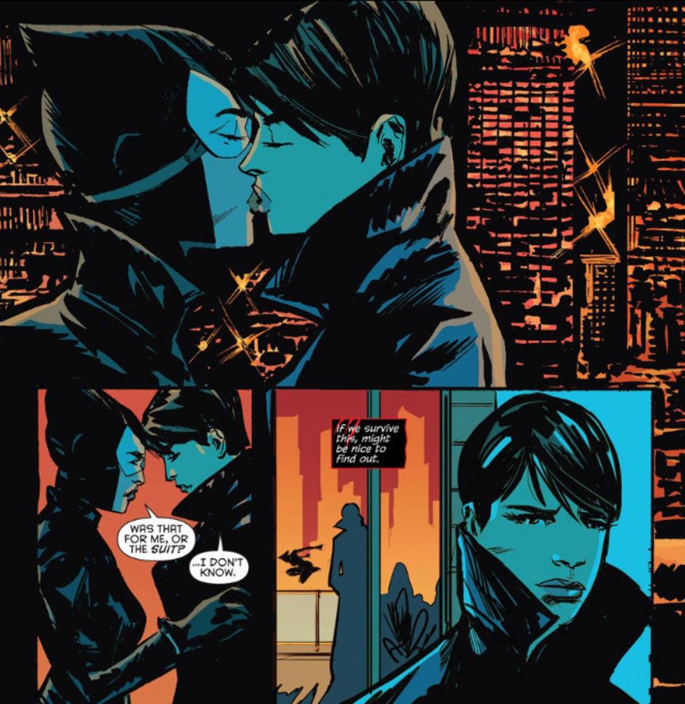 Catwoman kommer ut som bisexuell