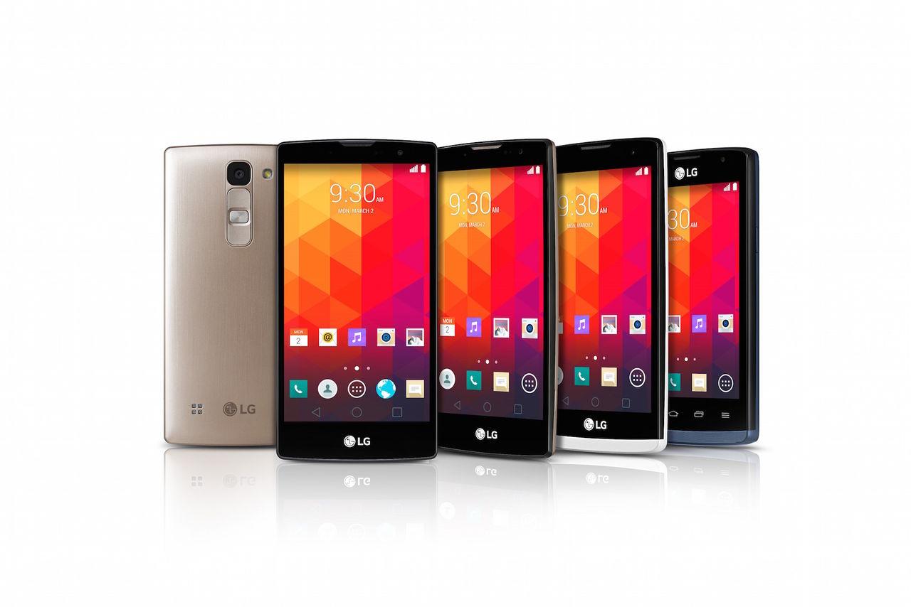 LG visar upp nya mellanklasser