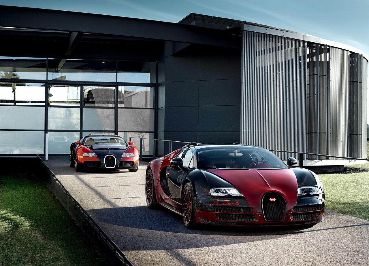 Bugatti Veyron är slutsåld och färdigbyggd